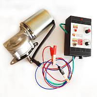 Привод медогонки электрический червячный с алюминиевым корпусом евро М1, напряжение 12В