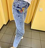 Джинси Mom жіночі L(р) блакитні 7653-001 RAW Туреччина Весна-C, фото 2