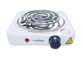 Плита электрическая одноконфорочная Crownberg - CB-3740 (узкий тэн)