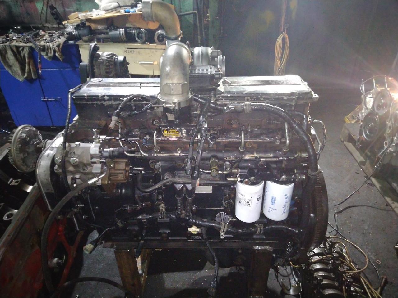 Ремонт двигателя Cummins QSL9, QSL8.3