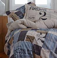 Двуспальное евро постельное белье KARACA HOME винтаж  COOL