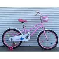 """Велосипед детский 16 дюймов TOPRIDER """"881""""- розовый"""