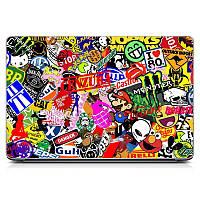 Оригинальная виниловая наклейка для ноутбука, планшета, нетбука Stickers Матовая
