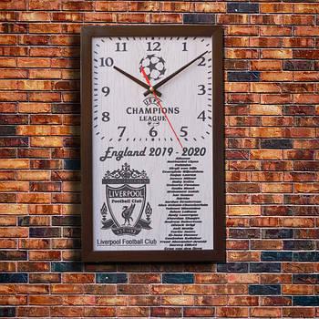 """Настенные часы """" Liverpool Football Club"""", индивидуальная работа."""