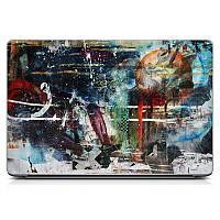 Необычная декоративная наклейка стикер на крышку ноутбука Fantasy Матовая