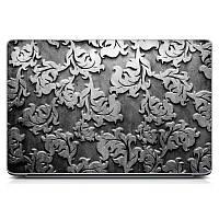 Необычная декоративная наклейка стикер на крышку ноутбука Gray 1 Матовая