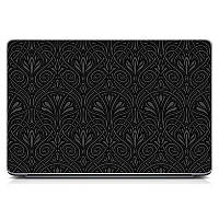 Необычная декоративная наклейка стикер на крышку ноутбука Stylish Матовая