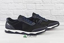 Кросівки чоловічі сітка біла підошва 40р, фото 2