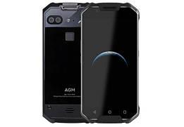 Защищенный смартфон AGM X2 6/64gb Black Glass Snapdragon 653 ip68 6000 мАч