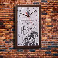 """Эффектные настенные часы """"Harry Potter"""", индивидуальная работа."""