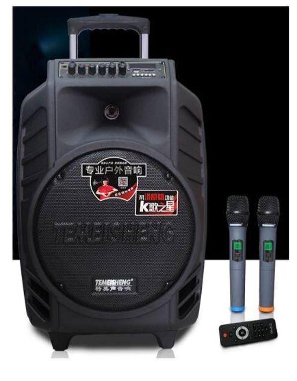 Портативная колонка акустическая система TEMEISHENG SP 15-08