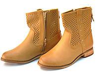 Женские ботинки Ажурные