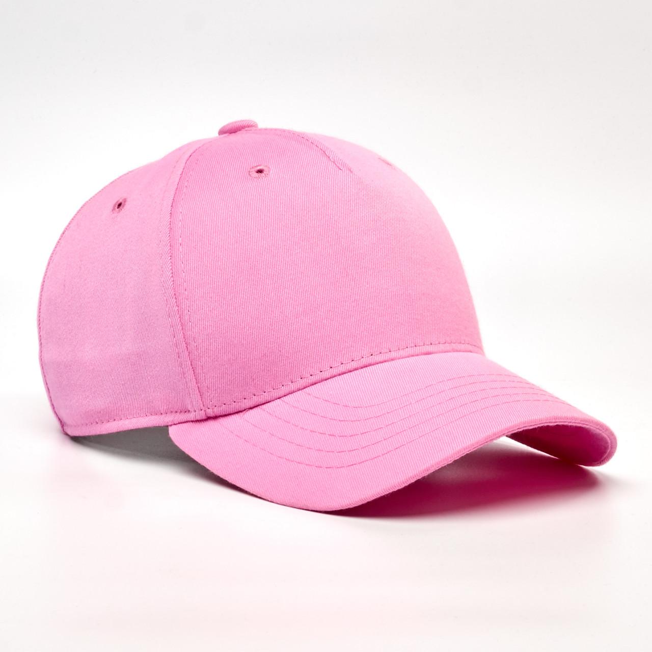 Детская кепка без логотипа INAL 5 панелей XS / 51-52 RU Розовый 224851