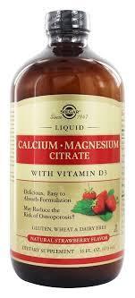 Solgarжидкий кальций магнийLiquid Calcium & Magnesium Citrate473 ml