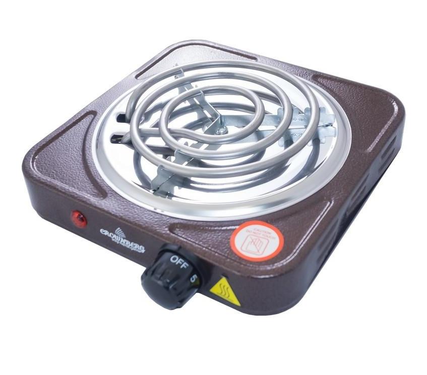 Плита электрическая одноконфорочная Crownberg - CB-3741 (узкий тэн)