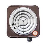 Плита электрическая одноконфорочная Crownberg - CB-3741 (узкий тэн), фото 2