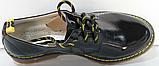 Туфли черные кожаные женские от производителя модель КЛ2150, фото 6