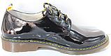 Туфли черные кожаные женские от производителя модель КЛ2150, фото 7