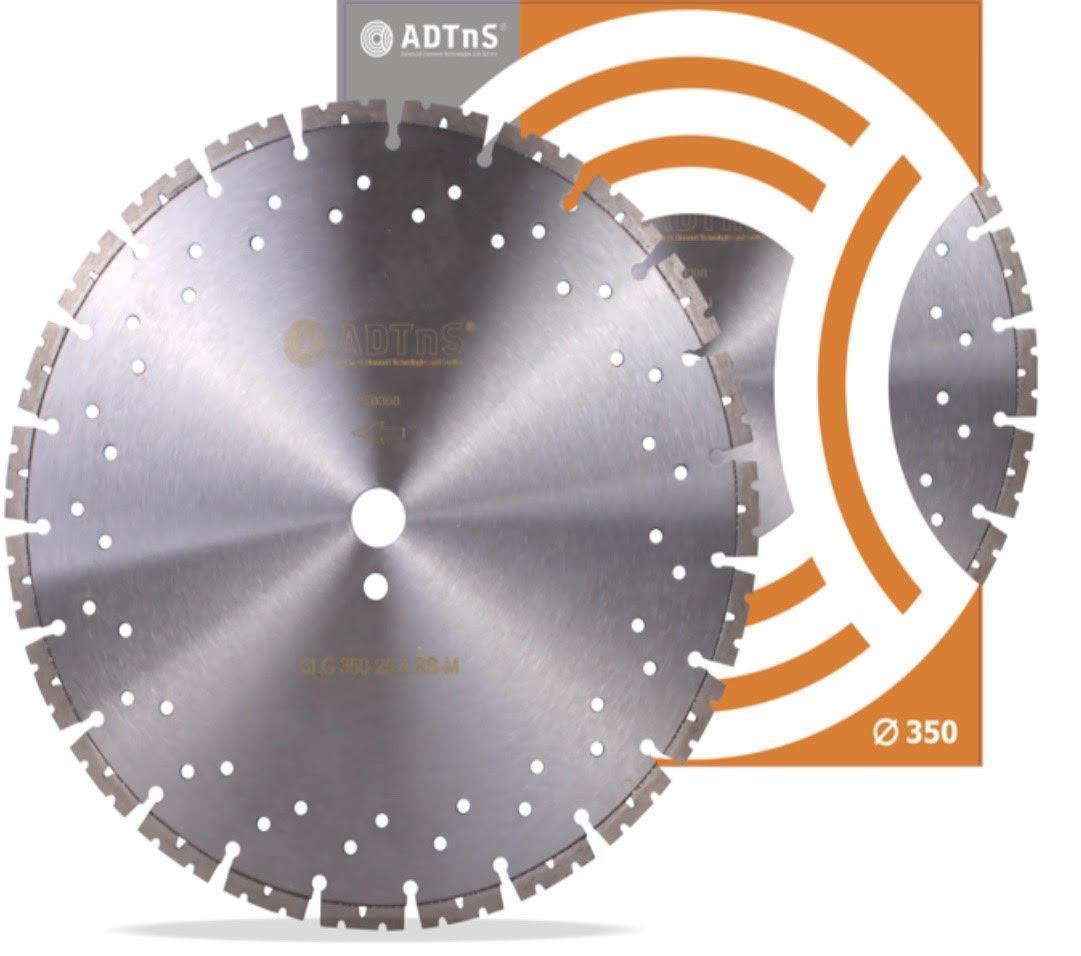 Диск алмазный ADTnS 350x3.2/2.2x11.5x25.4-25 RS-M