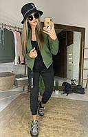Женский модный спортивный костюм: кофта и штаны