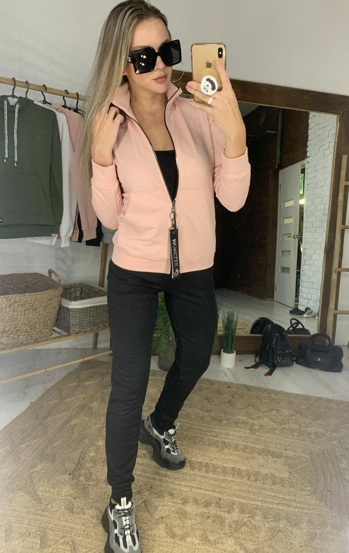 Женский спортивный костюм: кофта и штаны