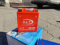 Мото аккумулятор  H&T 12V 7Ah/10HR ( GTX7L-BS )