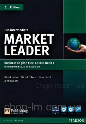 Market Leader 3rd Edition Pre-Intermediate Flexi Course Book 2 Pack / Учебник + тетрадь
