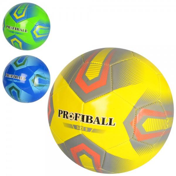 Мяч футбольный размер 5, ПВХ 1,6мм