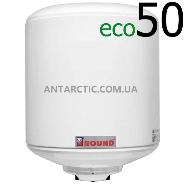 Бойлер 50 л, литров ATLANTIC ROUND ECO VMR 50 (1200W) электрический накопительный водонагреватель