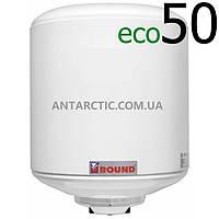 Бойлер 50 литров ATLANTIC ROUND ECO VMR 50 (1200W) л, водонагреватель электрический накопительный