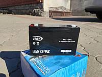 Мото аккумулятор  H&T 6V 12Ah/10HR ( HT6120 )