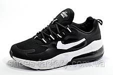 Кроссовки унисекс в стиле Nike Air Max React, Black\White, фото 3