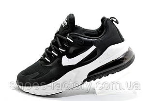 Кроссовки унисекс в стиле Nike Air Max React, Black\White