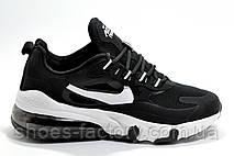 Кроссовки унисекс в стиле Nike Air Max React, Black\White, фото 2