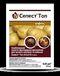 Инсекто-фунгицидный протравитель Селест Топ (20 мл) — защита картофеля и пшеницы.
