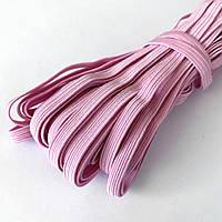 Мягкая резинка 6 мм светло-розовая