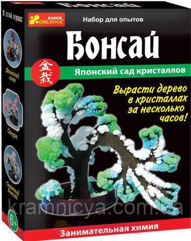 """Набор для творчества """"Бонсай из кристаллов"""""""
