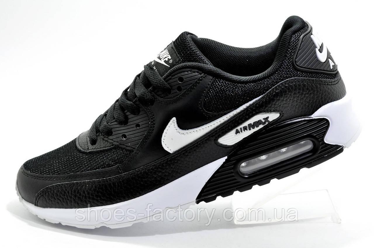 Кроссовки мужские в стиле Nike Air Max 90, Black\White