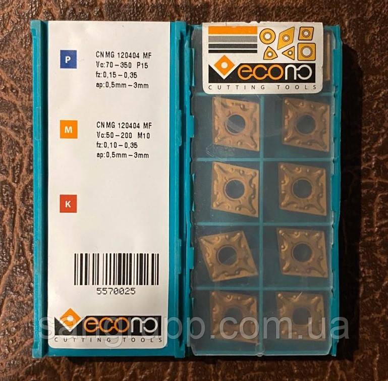 Пластина твердосплавная CNMG 120404 MF ECOCUTTING