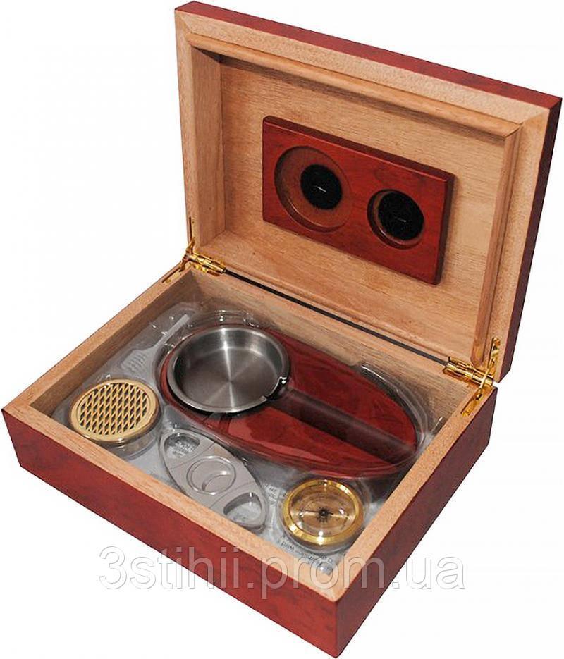 Хьюмидор Platner для 12 сигар Красный (600214)
