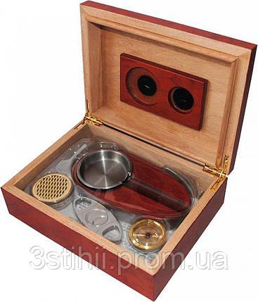 Хьюмидор Platner для 12 сигар Красный (600214), фото 2