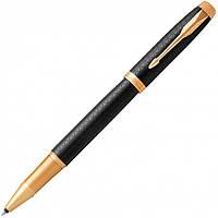 Ручка-роллер Parker IM 17 Premium Black GT RB (24 022) (3501179316604), фото 1