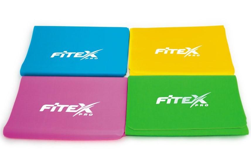 Набор ленточных эспандеров Fitex (4 шт)