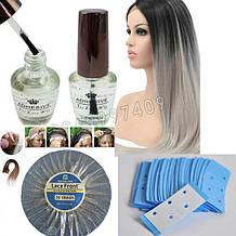 Клей для парика.🍶 Скотч-ленты для системы волос
