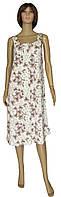 Ночная рубашка женская 20001 Astra Bamboo бамбук вискоза Молочно-коричневая