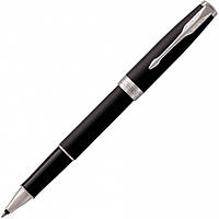 Ручка-роллер Parker SONNET 17 Matte Black Lacquer CT RB (84 922) (3501179315232), фото 1