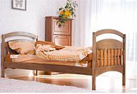 Кровать односпальная Venger Арина 80х190 орех светлый