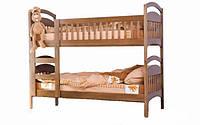 Двухярусная кровать Venger Арина 80х190 орех светлый