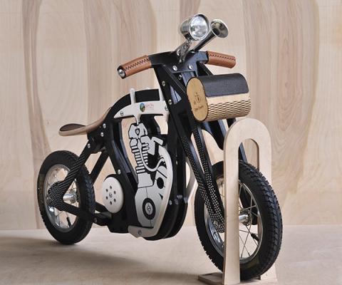 Дерев'яний велобіг Harlik Беговел Solid Wood