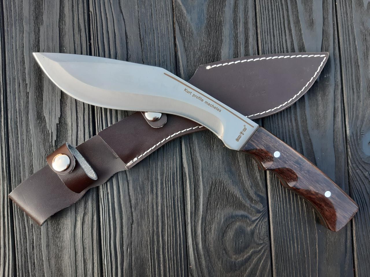 Нож кукри непальский  мачете в чехле   Xn 24   6.5 мм
